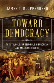 Cover for   Toward Democracy