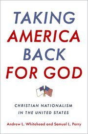 Cover for   Taking America Back for God