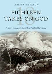 Cover for   Eighteen Takes on God