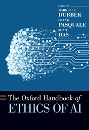Cover for   The Oxford Handbook of Ethics of AI