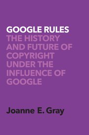 Cover for   Google Rules