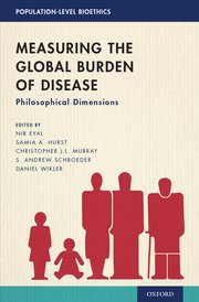 Cover for   Measuring the Global Burden of Disease