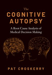 Cover for   The Cognitive Autopsy