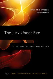 Cover for   The Jury Under Fire