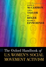 Cover for   The Oxford Handbook of U.S. Womens Social Movement Activism