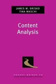 Cover for   Content Analysis