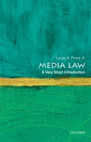 Cover for   Media Law: A Very Short Introduction