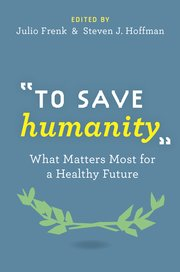 Cover for   To Save Humanity