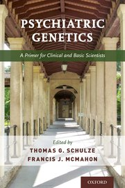 Cover for   Psychiatric Genetics