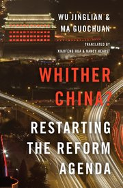 Cover for   Whither China?