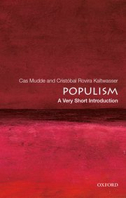 Cover for   Populism: A Very Short Introduction