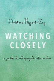 Cover for   Watching Closely