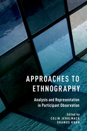 Cover for   Approaches to Ethnography