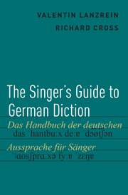 Cover for   The Singers Guide to German Diction