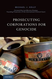 Cover for   Prosecuting Corporations for Genocide