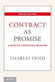 Cover for   Contract as Promise