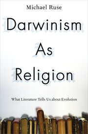 Cover for   Darwinism as Religion