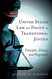 Cover for   United States Law and Policy on Transitional Justice