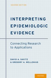 Cover for   Interpreting Epidemiologic Evidence