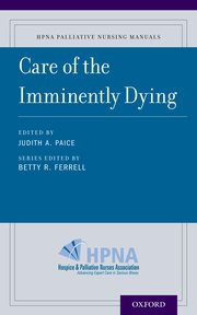 Cover for   Care of the Imminently Dying