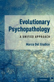 Cover for   Evolutionary Psychopathology