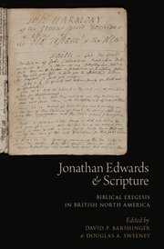 Cover for   Jonathan Edwards and Scripture