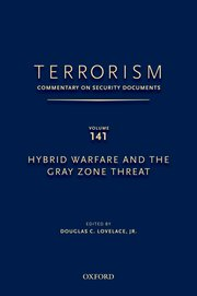 Cover for   TERRORISM: COMMENTARY ON SECURITY DOCUMENTS VOLUME 141