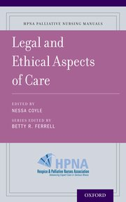 Cover for   Legal and Ethical Aspects of Care