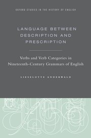 Cover for   Language Between Description and Prescription
