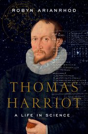 Cover for   Thomas Harriot