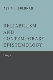 Cover for   Reliabilism and Contemporary Epistemology