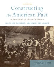 Cover for   Constructing the American Past
