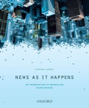 Cover for   News as it Happens