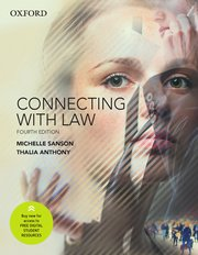Cover for   Connecting with Law