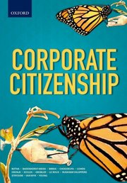 Cover for   Corporate Citizenship