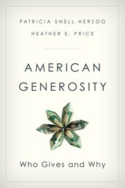 Cover for   American Generosity