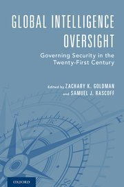 Cover for   Global Intelligence Oversight