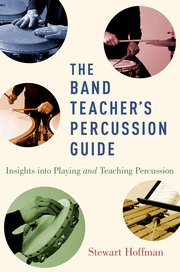 Cover for   The Band Teachers Percussion Guide