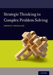 Cover for   Strategic Thinking in Complex Problem Solving