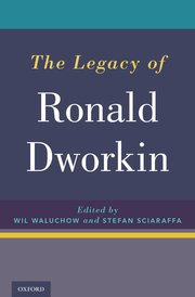 Cover for   The Legacy of Ronald Dworkin