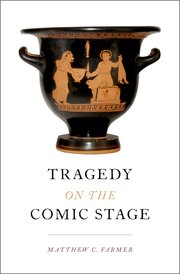 Cover for   Tragedy on the Comic Stage