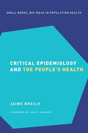 Cover for   Critical Epidemiology and the Peoples Health