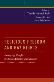 Cover for   Religious Freedom and Gay Rights