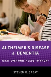 Cover for   Alzheimers Disease and Dementia
