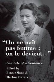 Cover for   On ne naît pas femme: on le devient