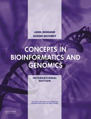 Cover for   Concepts in Bioinformatics and Genomics