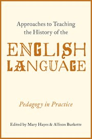 Approaches to teaching the history of the english language cover for approaches to teaching the history of the english language fandeluxe Gallery