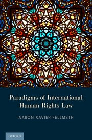 Cover for   Paradigms of International Human Rights Law