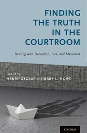 Cover for   Finding the Truth in the Courtroom