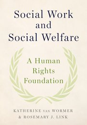 Cover for   Social Work and Social Welfare